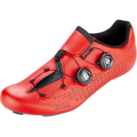 Fizik Infinito R1 Racing Bike Shoes, red/black